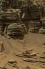 Mars water runoff 1 m