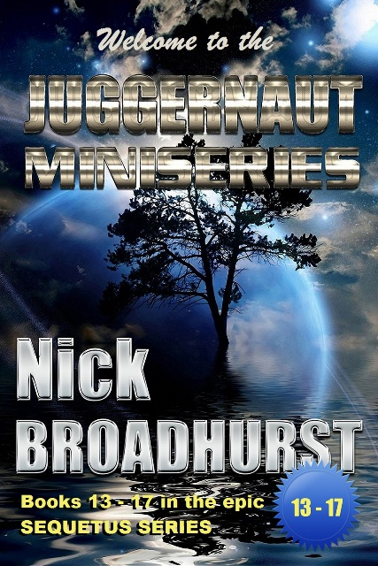 THE JUGGERNAUT MINISERIES of the Sequetus Series