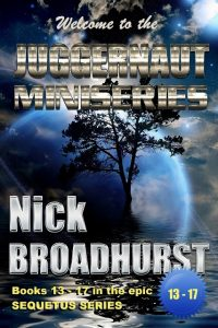 THE JUGGERNAUT MINISERIES of the Sequetus Series