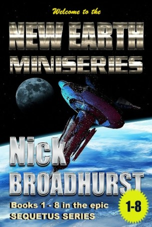 NEW EARTH Miniseries Cover