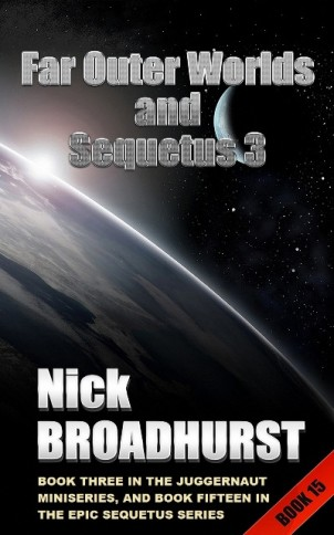 FAR OUTER WORLDS AND SEQUETUS 3 Cover