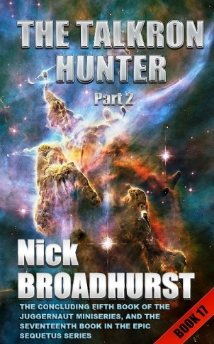 TALKRON HUNTER PART 2 Cover